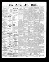 Acton Free Press (Acton, ON)29 Jul 1897
