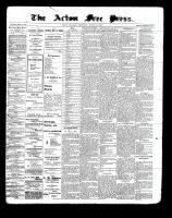 Acton Free Press (Acton, ON), August 12, 1897