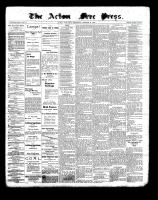 Acton Free Press (Acton, ON)21 Oct 1897