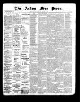 Acton Free Press (Acton, ON), October 28, 1897