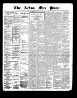 Acton Free Press (Acton, ON), November 11, 1897