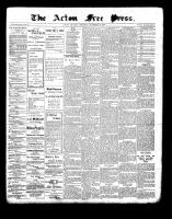 Acton Free Press (Acton, ON)18 Nov 1897