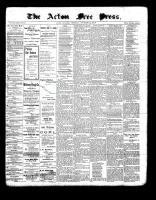 Acton Free Press (Acton, ON), November 25, 1897