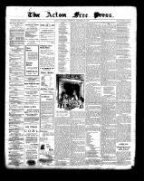 Acton Free Press (Acton, ON)23 Dec 1897