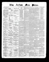 Acton Free Press (Acton, ON), January 20, 1898