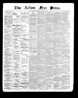 Acton Free Press (Acton, ON), January 27, 1898
