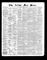 Acton Free Press (Acton, ON), March 3, 1898