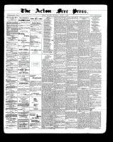 Acton Free Press (Acton, ON)4 Aug 1898