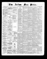 Acton Free Press (Acton, ON), August 11, 1898