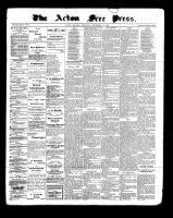 Acton Free Press (Acton, ON), September 15, 1898