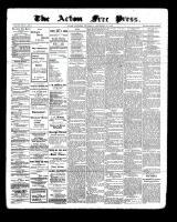 Acton Free Press (Acton, ON), September 29, 1898