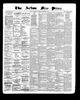 Acton Free Press (Acton, ON), October 6, 1898