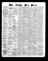 Acton Free Press (Acton, ON)13 Oct 1898