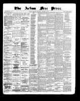 Acton Free Press (Acton, ON), October 27, 1898