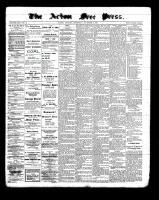 Acton Free Press (Acton, ON), November 3, 1898
