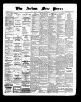 Acton Free Press (Acton, ON), November 10, 1898
