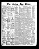 Acton Free Press (Acton, ON), November 17, 1898