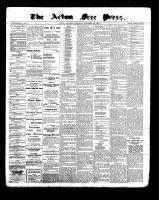 Acton Free Press (Acton, ON), November 24, 1898