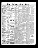Acton Free Press (Acton, ON), December 1, 1898
