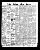 Acton Free Press (Acton, ON), December 8, 1898
