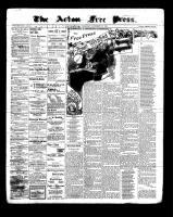 Acton Free Press (Acton, ON), December 22, 1898