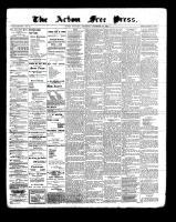 Acton Free Press (Acton, ON), December 29, 1898