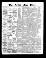 Acton Free Press (Acton, ON)5 Jan 1899