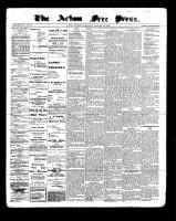 Acton Free Press (Acton, ON), January 26, 1899