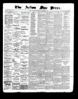 Acton Free Press (Acton, ON), February 2, 1899