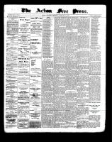 Acton Free Press (Acton, ON), February 9, 1899