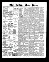 Acton Free Press (Acton, ON), February 16, 1899