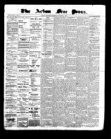 Acton Free Press (Acton, ON), March 23, 1899