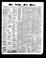 Acton Free Press (Acton, ON), March 30, 1899