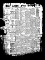Acton Free Press (Acton, ON)6 Jul 1899