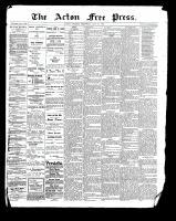 Acton Free Press (Acton, ON), July 27, 1899