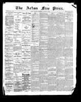 Acton Free Press (Acton, ON), August 3, 1899