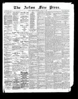 Acton Free Press (Acton, ON)17 Aug 1899