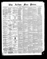 Acton Free Press (Acton, ON), August 24, 1899