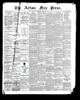 Acton Free Press (Acton, ON)7 Sep 1899