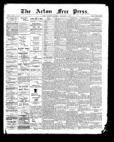 Acton Free Press (Acton, ON), September 14, 1899