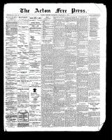 Acton Free Press (Acton, ON), September 21, 1899