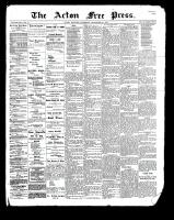 Acton Free Press (Acton, ON), September 28, 1899