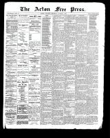 Acton Free Press (Acton, ON), October 5, 1899