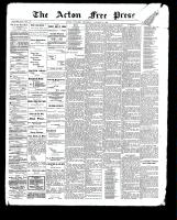 Acton Free Press (Acton, ON)19 Oct 1899