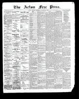Acton Free Press (Acton, ON)30 Nov 1899