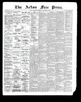 Acton Free Press (Acton, ON)14 Dec 1899