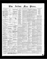 Acton Free Press (Acton, ON)1 Feb 1900