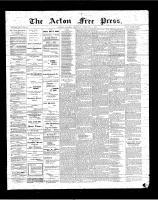 Acton Free Press (Acton, ON)8 Feb 1900