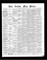 Acton Free Press (Acton, ON)15 Feb 1900