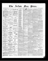 Acton Free Press (Acton, ON)5 Apr 1900